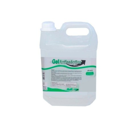BELL PLUS ALCOOL 70 INPM GEL ANTISSEPTICO COM GLICERINA 05 LITROS