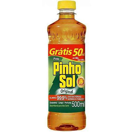 DESINFETANTE PINHO SOL ORIGINAL 500 ML