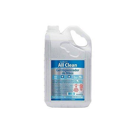 AUDAX ALL CLEAN ALCOOL GEL 70º PUMP 05 LTS