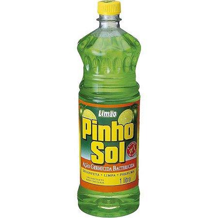DESINFETANTE PINHO SOL LIMAO 01 LITRO