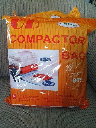 Saco À Vácuo Protetor Organizador Roupa Cobertor