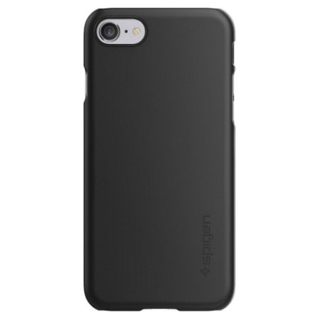 Capa Spigen Thin Fit black preto fina Apple iPhone 7