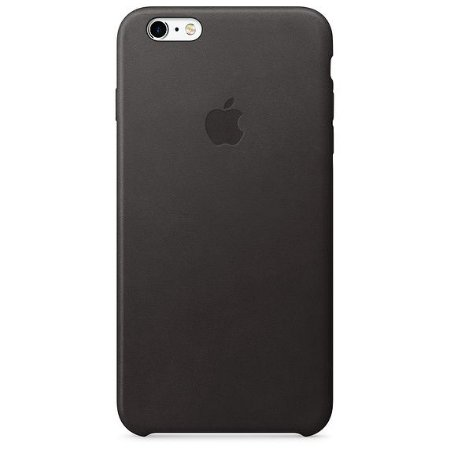 b6fa2de0a Capa Couro Iphone 6 Plus / 6s Plus Preta Mkxf2bz/a Original