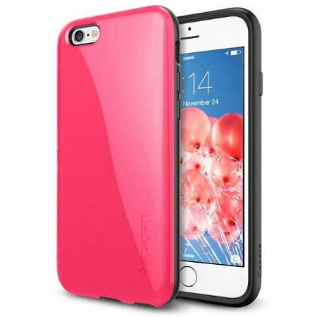8358b4dc4 Case Spigen Capella iPhone 6s 6 Rosa Azalea Pink Capa - Fransoftware