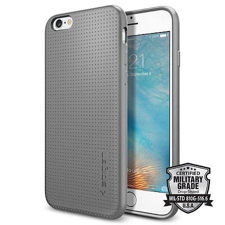 43406ae6e Case Spigen Capsule iPhone 6s 6 Gray Cinza capa - Fransoftware