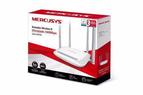 Roteador Wireless Mercusys N Otimizado 300 Mbps Mw325r