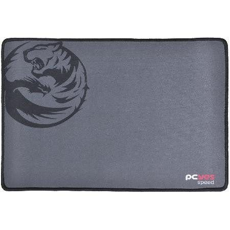 Mouse Pad Gamer Dash Speed 355x254x3mm Cinza - Pcyes