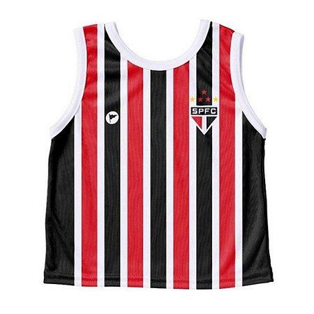 Camiseta São Paulo Bebê Regata - Torcida Baby