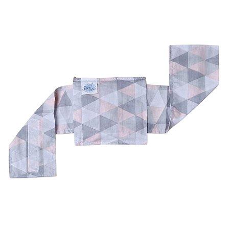 Bolsa Térmica de Sementes Com Cinta Triangulo Rosa