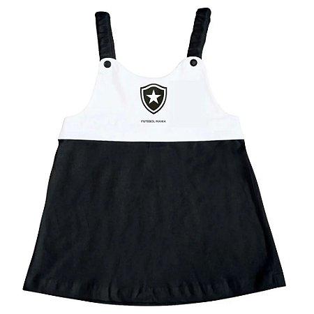 Vestido Infantil Botafogo Com Alça - Torcida Baby