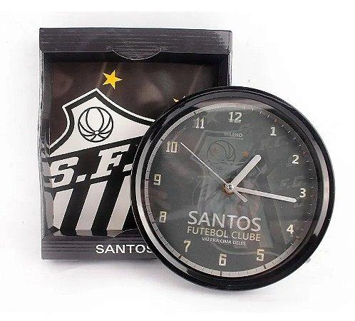 Relógio Parede Santos Oficial 20Cm