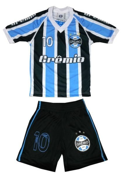 Conjunto Grêmio Infantil Dry Listras Oficial