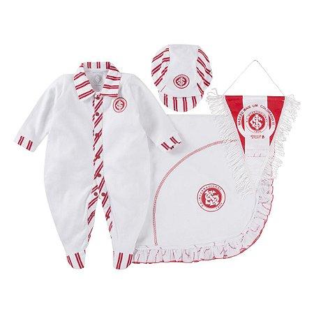 Kit Maternidade Internacional com Manta e Boné Revedor