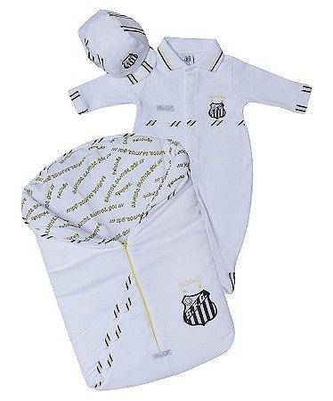 Kit Maternidade Santos com Saco de Dormir Masculino Oficial