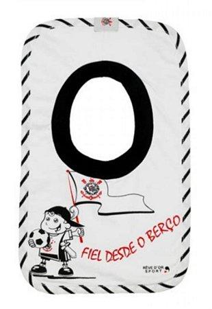 Babador Bebê Corinthians Fiel Revedor