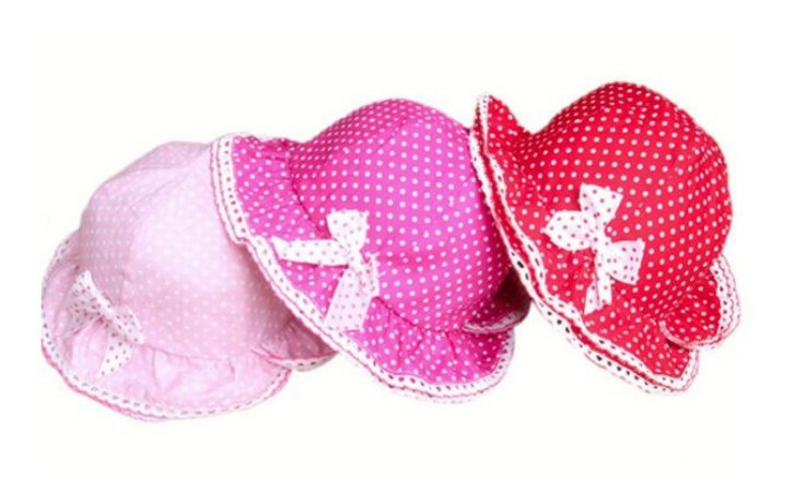 Chapéu Bebê Cores Rosa, Pink e Vermeho
