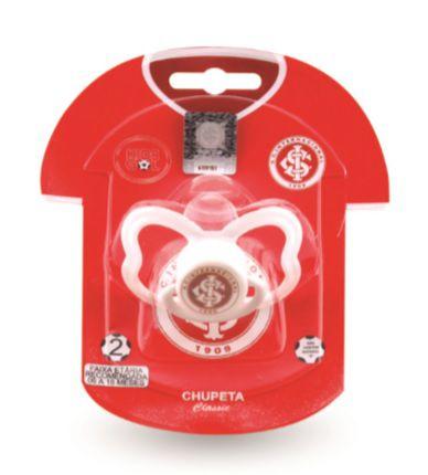 Chupeta Internacional Classic Redonda S1 Kids Gol