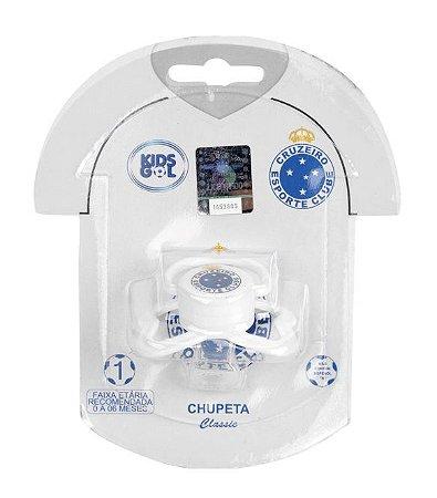Chupeta Cruzeiro Classic Redonda S1 Kids Gol 877b0180f3cb2