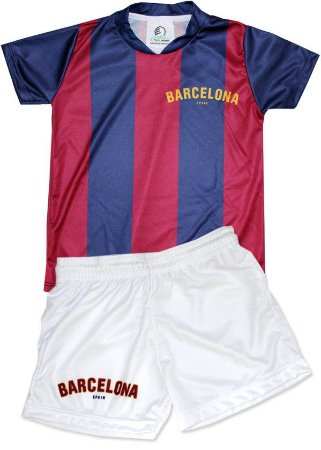 73df8fe51e Conjunto Infantil Barcelona Torcida Baby