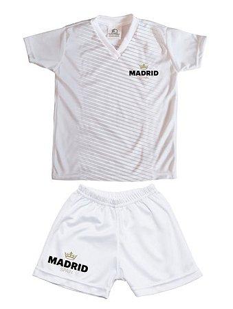c4744a7ca2 Conjunto Infantil Real Madrid Torcida Baby