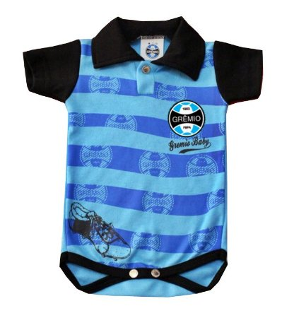 Body Polo Grêmio Baby Oficial
