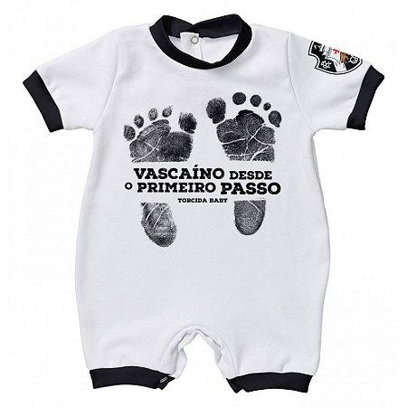 Macacão Vasco Primeiro Passo - Torcida Baby