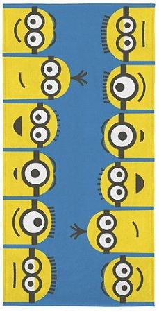 Toalha Felpuda Infantil Minions 60 cm x 1,20 m - Lepper