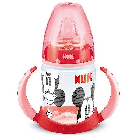 Copo de Treinamento Nuk First Choice Mickey Red 150 ml