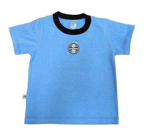 Camiseta Bebê Grêmio Bicolor Oficial