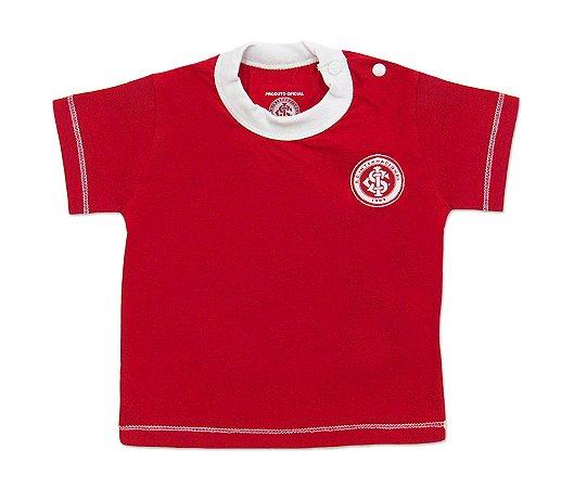 Camiseta Bebê Internacional Vermelha Oficial