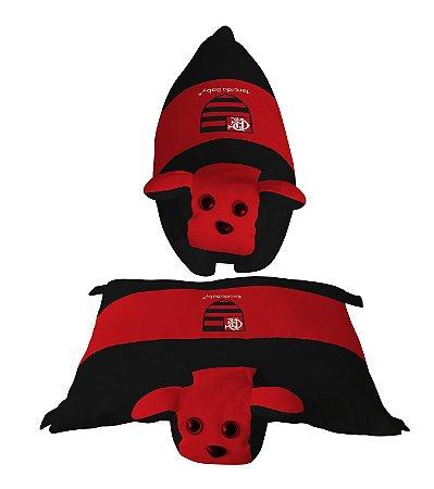 Travesseiro Cachorrinho Flamengo - Torcida Baby