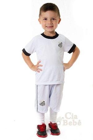 ea5d1c6ca3 Conjunto Infantil Santos Uniforme Artilheiro Oficial