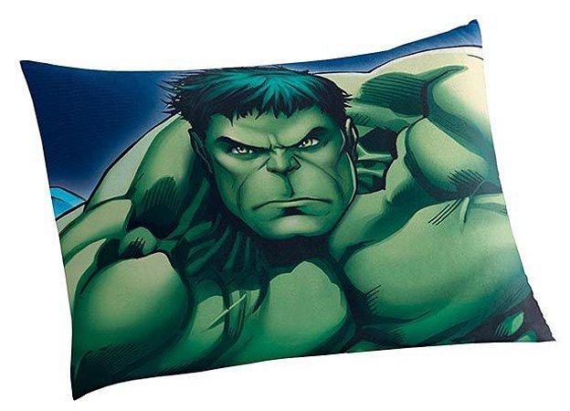 Fronha Avulsa Hulk Vingadores 50 cm x 70 cm - Lepper