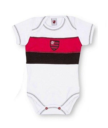 Body Flamengo Manga Curta Revedor