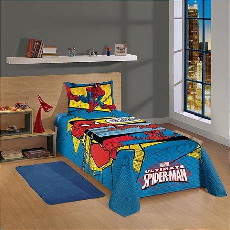 Jogo de Cama Infantil Spider Man 2 pçs - Lepper