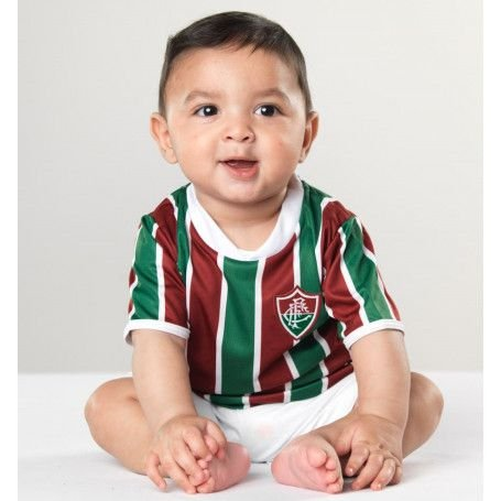 Conjunto Bebê Uniforme Fluminense Dry - Torcida Baby