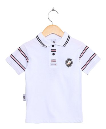 Camisa Polo Infantil Vasco Masculina Oficial