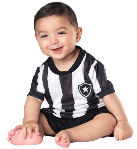 Conjunto Uniforme Bebê Botafogo - Torcida Baby