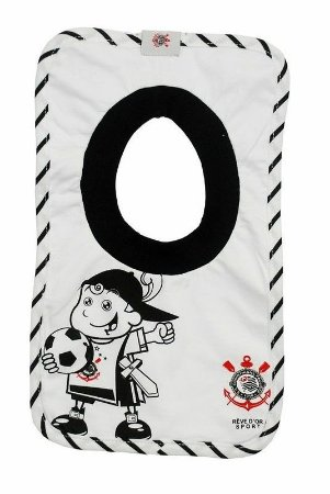 Babador Bebê Corinthians Mascote Revedor