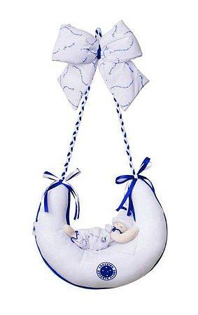 Enfeite Porta Maternidade Cruzeiro Meia Lua Menina