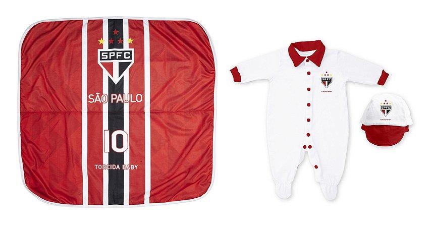 Kit Maternidade São Paulo Com Manta - Torcida Baby