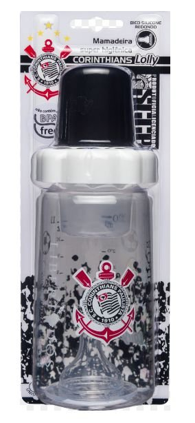 Mamadeira Big Corinthians Lolly 330ml