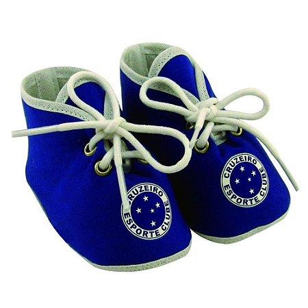 Chuteirinha Bebê Cruzeiro Azul Revedor