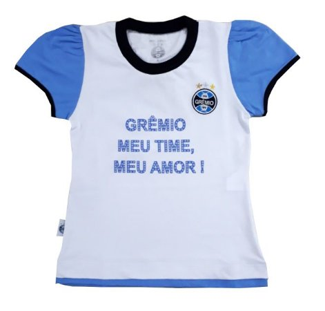 Baby Look Infantil Grêmio Oficial