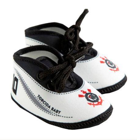 Tênis Bebê Corinthians Oficial - Torcida Baby
