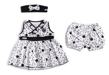 Vestido Infantil Atlético MG com Shorts e Tiara Revedor