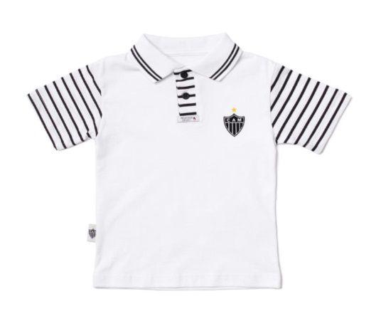 Camisa Polo Infantil Atlético MG Oficial - Revedor