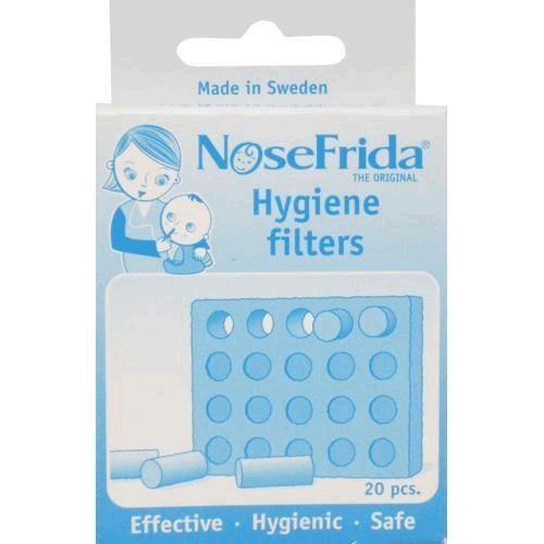 Refil 20 Filtros Nosefrida Original