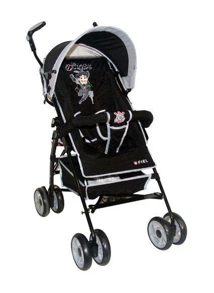 Carrinho de Bebê Corinthians Oficial