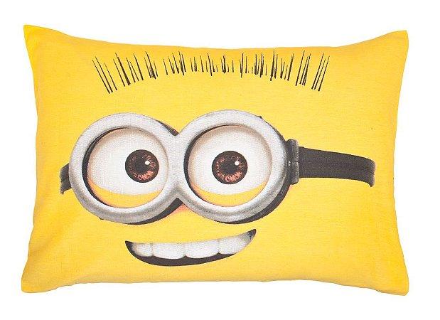 Fronha Estampada Minions Amarela- Lepper